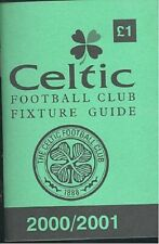 Celtic FC 'Wee Green Book' 2000-01 Football Guide