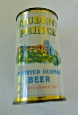 Student Prince Flat Top Beer Can Sharp Looking Can Great Colors