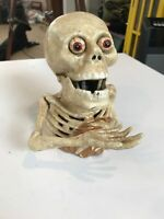 vintage skeleton Bank. Castiron. Hand Moves Up And Down. Eyes Buldge In And Out.