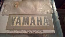 Genuine Yamaha Quilla Gráfico Calcomanía 1WJ-28315-00 FJ1200 Blanco Sedoso SW 86 para