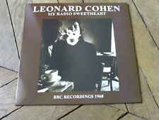 LEONARD COHEN my radio sweetheart  LP BBC 68