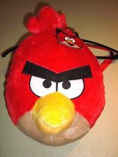 "ANGRY BIRD BACKPACK PLUSH ""Terence- Big Brother Bird"" Red Cardinal - New w/Tags"