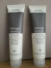 Aveda Damage Therapy Daily Hair Repair Leave In Treatment 3.4oz ×2 Heat Protect