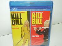 Kill Bill Vol 1 & Vol 2 (Blu-ray, Region A, Canadian, 1 Disc Set 2010) BRAND NEW