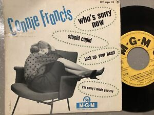 Ep Connie Francis Mgm 25