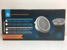 """JL Audio M770-CCX-CG-WH 7.7"""" Marine Boat Speakers (100 W, 4Ω)"""