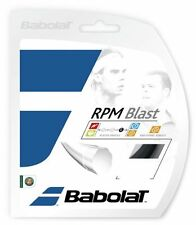 NEW BABOLAT RPM BLAST 1.30 MM 16 g TENNIS RACQUET STRING 12M 40' FREE 1STCLS S&H