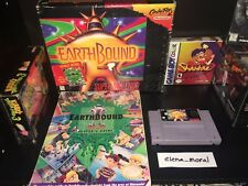 EarthBound Complete Box and Guide Authentic