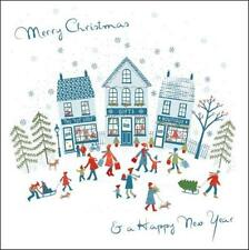 Pack of 5 Christmas Shopping Samaritans Charity Christmas Cards Card Packs
