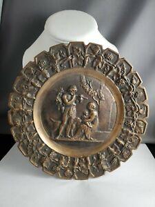 Vintage Heavy Bronze Dish