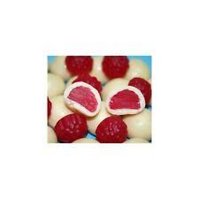 White Chocolate coated Raspberries 1 Kg