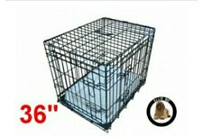 "Ellie bo deluxe 36"" dog cage, puppy, crate, brand new, large"