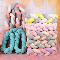 Multi-color Baby Newborn Soft Knot Pillow Cushion Woven Plush Cradle Sleep Bumpe
