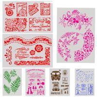 Plantillas de capas Scrapbooking Gofrado Plantilla Sello Álbum Decorativo