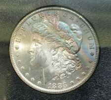 1883 CC Silver Morgan Dollar NGC MS 63 Star GSA Hoard Carson City Toned Toning