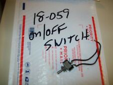 "ON/Off TOGGLE SWITCH  FROM Vintage 9 X 30"" General Electric Workshop Wood Lathe"