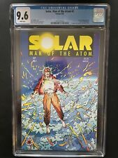 Solar, Man of the Atom #1 1991 CGC 9.6 1st App Solar Valiant Comic Book GR1-10