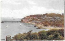 CLEVEDON - Artist A.R. Quinton - J. Salmon Card 2376 - Posted 1934