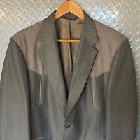 Mens LARRY MAHAN'S Cowboy Collection Western Jacket / Blazer Sport Coat - 40R