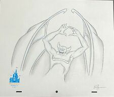 HTF Original DISNEY Artist, Highly Detailed, Sketch of Evil Villian Chernabog