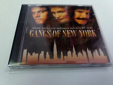 "ORIGINAL SOUNDTRACK ""GANGS OF NEW YORK"" CD 18 TRACKS BANDA SONORA BSO OST"