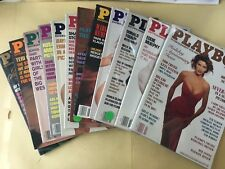 Playboy Magazine Full Year Set 1990 All 12 Issues. Complete Collection.  D Trump