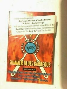 VERVE 1997 SUMMER BLUES BARBEQUE --Promo Cassette, SUPER-RARE, BRAND NEW !