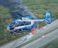 Revell 04980 Airbus H145 Police suveillance helicopter 1:32   NEUHEIT 2018  OVP,