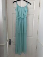 Miss Selfridge Turquoise Waterfall Style Maxi Dress (Petite)