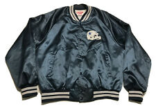 Vintage 1993 Locker Line Dallas Cowboys Satin Jacket Mens XL Blue