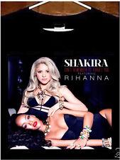 Shakira T shirt; Shakira Rihanna Tee Shirt