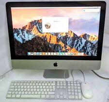 """Apple iMac 21.5"""" Intel i5 2.5 4GB RAM 500GB HDD High End 2011 A1311 Sierra EA210"""
