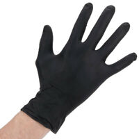Nitrile  gloves black Heavyduty 100pcs 5mil Thick Powder Free Textured Large