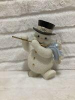 LENOX 2011 Annual Snowman Fanciful Flute Figurine AMAZING Condition HTF Rare