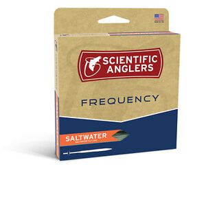 NEW SCIENTIFIC ANGLERS FREQUENCY SALTWATER WF-10-F #10 WEIGHT FLOATING FLY LINE