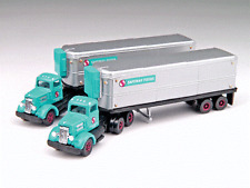 Classic Metal Works # 51148 White  Tractor w/AeroVan Trailer Safeway Foods N MIB