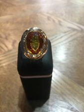 18K Yellow Gold Stunning Citrine Ring