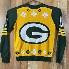 Green Bay Packers Mens Xmas Sweater New With Tags NFL Team Apparel Size: XL
