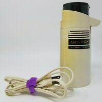 Vintage Schick 300 Electronic Hot Lather Shaving Cream Dispenser Untested