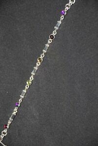 SILPADA - B0495 - Colorful Semi-Precious Stone Bracelet w/ Silver Accents