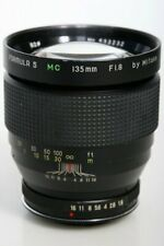135mm f1.8 Telephoto Lens By Mitake Rolleiflex 35mm SLR Mount - Formula 5