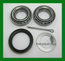 "Trailer Hub Wheel Bearing Kit 2000# EZ Lube Axle Spindle 1.00"" Seal L44643"