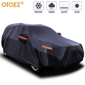 17FT 5 Layers Full SUV Car Cover Waterproof Outdoor UV Snow Rain Dust Protector