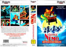 "VHS - "" Little NEMO - Abenteuer im Schlummerland "" (1989) - VCL"