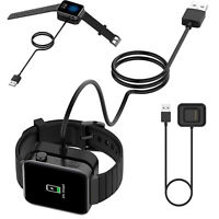 Watch Charger Cradle Charging Dock Station W/USB Cable for NEW Smart Watch BS