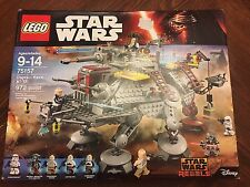Lego 75157 Star Wars Rebels Captain Rex's AT-TE NEW (opened to confirm contents)