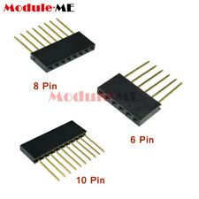 Stackable Header long Pins 6/8/10pin Arduino Shield UNO MEGA DUE 2.54mm pitch