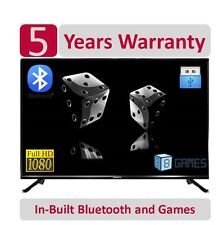 "BlackOx 32LE3201 32"" 1080p Bluetooth+Games Full HD* LED TV ;5 Years Wty"