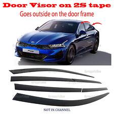 for Kia K5 2021 Window Wind Deflector Door Visor Rain Sun Guard Vent â�6pcsâ�