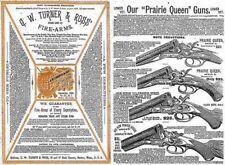 Turner & Ross 1883 (Boston) Fire Arms Gun Catalog
